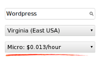 EC2 server usage fees options